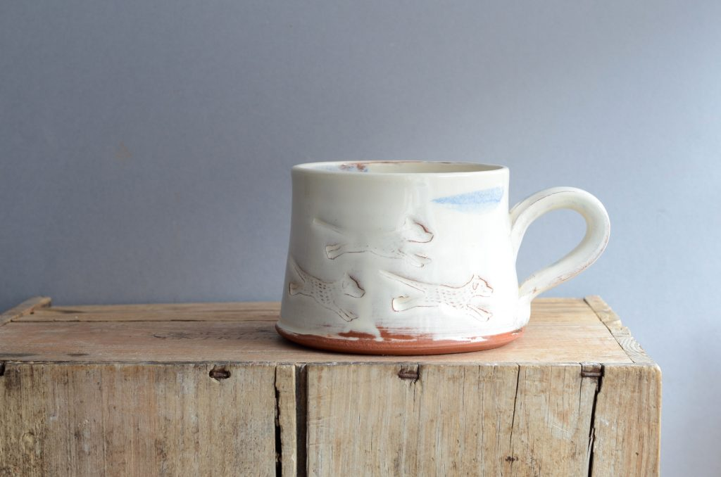 Selling pottery online can be really worthwhile in many ways, says Simon Olley who sells his handmade beautiful dog-themed ceramics online at OlleyPottery.com